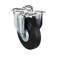 Tente Zinc-plated Fixed Castor, (Dia)125mm