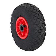 Tente Swivel Rubber Pneumatic Tyre, (Dia)260mm (W)85mm