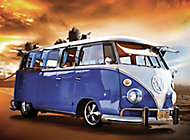 1Wall Giant Blue Volkswagen Mural