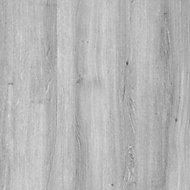 Exmoor Flush Grey Oak veneer Internal Door, (H)1980mm (W)762mm