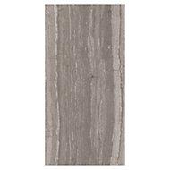 Neos Grey Matt Wood effect Ceramic Wall tile, Pack of 8, (L)500mm (W)250mm