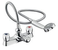 Armitage Shanks Sandringham Chrome finish Bath shower mixer tap