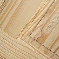 4 panel Clear pine LH & RH Internal Fire Door, (H)1981mm (W)686mm