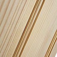 4 panel Traditional Clear pine LH & RH Internal Door, (H)1981mm (W)838mm