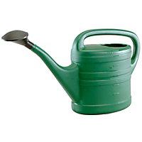 Sankey Green Plastic Watering can 13L