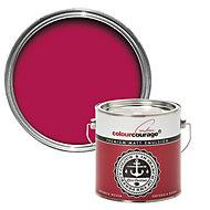 colourcourage Ortensia rossa Matt Emulsion paint 2.5L