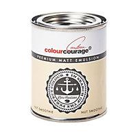 colourcourage Nut smoothie Matt Emulsion paint 0.13L Tester pot