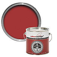 colourcourage Dansk rød Matt Emulsion paint, 2.5L
