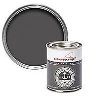 colourcourage Dark graphite Matt Emulsion paint 0.13L Tester pot
