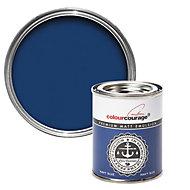 colourcourage Navy blue Matt Emulsion paint 0.13L Tester pot