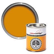 colourcourage Kumquat arancio Matt Emulsion paint 0.13L Tester pot