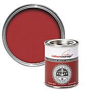 colourcourage Dansk rød Matt Emulsion paint 0.13L Tester pot