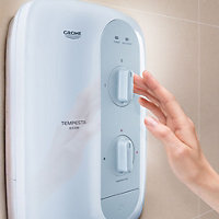 Grohe Tempesta Night grey Electric shower, 8.5 kW