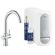 Grohe Blue Home Duo Chrome effect Filtered hot & cold water tap