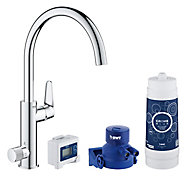Grohe Blue Pure Chrome effect Filtered hot & cold water tap