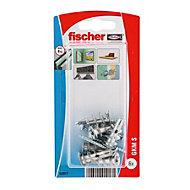 Fischer Steel Self drilling metal plug, Pack of 6