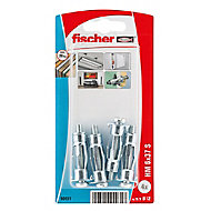 Fischer Steel Hollow wall anchor (L)37mm, Pack of 4