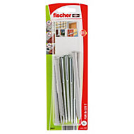 Fischer Frame fixing (Dia)8mm (L)120mm, Pack of 4