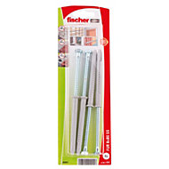 Fischer Frame fixing (Dia)8mm (L)80mm, Pack of 4