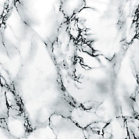 D-C-Fix Marmi White Marble effect Self-adhesive film (L)2m (W)450mm