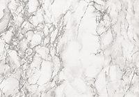 D-C-Fix Marmi Marble effect Grey Self adhesive film (L)2m (W)680mm