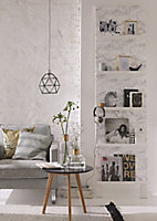 D-C-Fix Marmi Grey Marble effect Self-adhesive film (L)2m (W)680mm