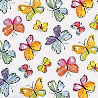 D-C-Fix Butterflies Multicolour Self-adhesive film (L)2m (W)450mm