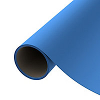 D-C-Fix Plain Blue Matt Self adhesive film (L)2m (W)680mm