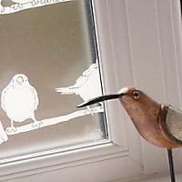 D-C-Fix Bird Matt White Film (L)1.5m (W)450mm