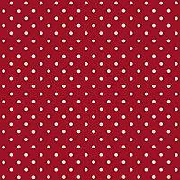 D-C-Fix Polka dot Red Self-adhesive film (L)2m (W)450mm