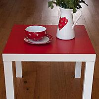 D-C-Fix Plain Red Self-adhesive film (L)2m (W)450mm