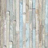 D-C-Fix Rio Ocean Drift wood Grey Self adhesive film (L)2m (W)680mm
