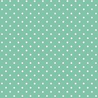 D-C-Fix Polka dot Mint green Self-adhesive film (L)2m (W)450mm