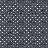 D-C-Fix Stars Dark grey Metallic effect Self-adhesive film (L)2m (W)450mm