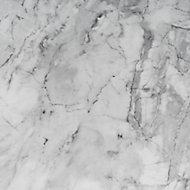 D-C-Fix Gloss Grey Marble effect Self-adhesive film (L)2.1m (W)900mm