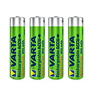 Varta Rechargeable AAA Battery, Pack of 4