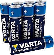 Varta Longlife Power Non rechargeable AA Battery, Pack of 12