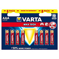 Varta Longlife Max Power Non rechargeable AAA Battery, Pack of 8