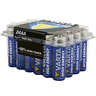 Varta Longlife Power Non rechargeable AA Battery, Pack of 24