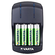 Varta 5h Battery charger with 4x AA batteries