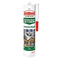 UniBond Weather-guard White Extreme repair Sealant, 300ml