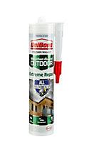 UniBond Weather-guard Translucent Extreme repair Sealant, 300ml