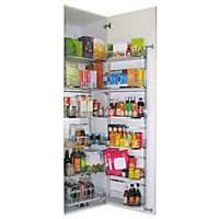 Kesseböhmer Larder system Soft close fixings included Tandem larder storage, (H)1700mm (W)562mm