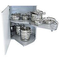 Kesseböhmer Corner cabinet LH Pull out storage, (H)520mm (W)755mm