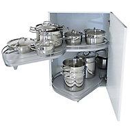 Kesseböhmer Corner cabinet RH Pull out storage, (H)520mm (W)755mm