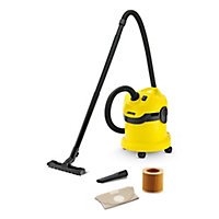 Karcher WD2 Corded Wet & dry vacuum, 12L