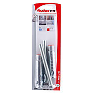 Fischer Electro zinc-plated Steel Sleeve anchor (L)86mm, Pack of 2