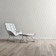 A.S. Creation Bjorn Beige & cream Geometric Metallic effect Embossed Wallpaper