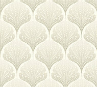 A.S. Creation Beige & taupe Floral Wallpaper