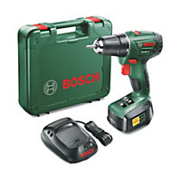 Bosch Cordless 18V 1.5Ah Li-ion Brushed Drill driver 1 battery Bosch PSR 1800 LI-2